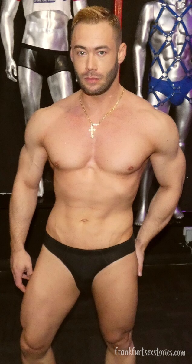 aron muscle gay porn model