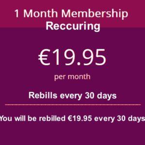 30 days membership recurring