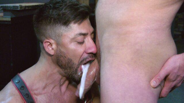 oral creampie